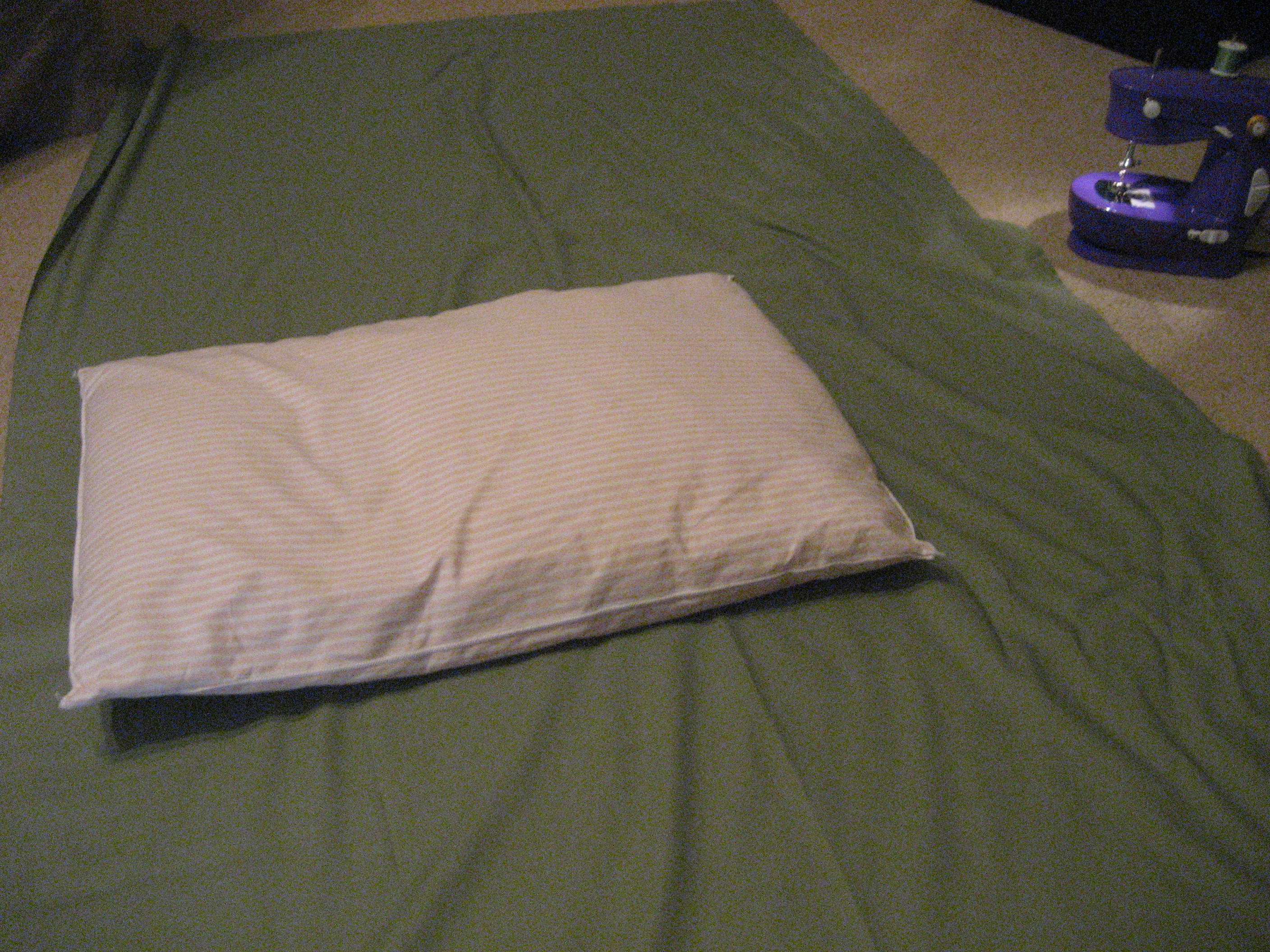 Picture of Measure Your Pillow to Determine How Much Fabric You Will Need