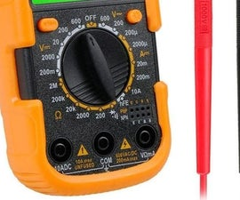 USB Lithium Re-chargeable DT830 Multimeter