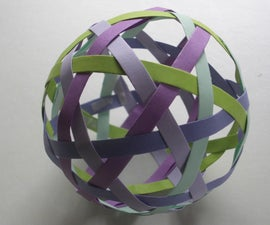 10 strip woven ball