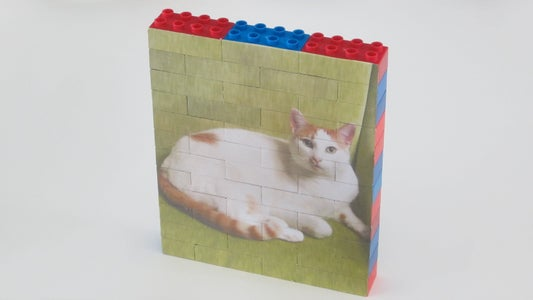 Enjoy Your New Building Block Picture Puzzle