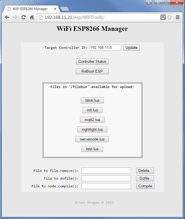 Picture of ESP8266 WiFi OTA Remote File Management