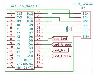Elektrisch Circuit Voor RFID