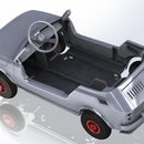 Kids Car Plywood Laser Cut Tot Rod