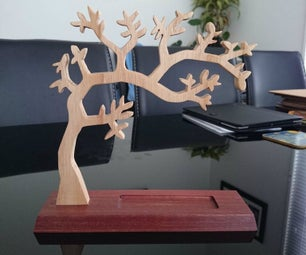 Wooden Jewellery Stand