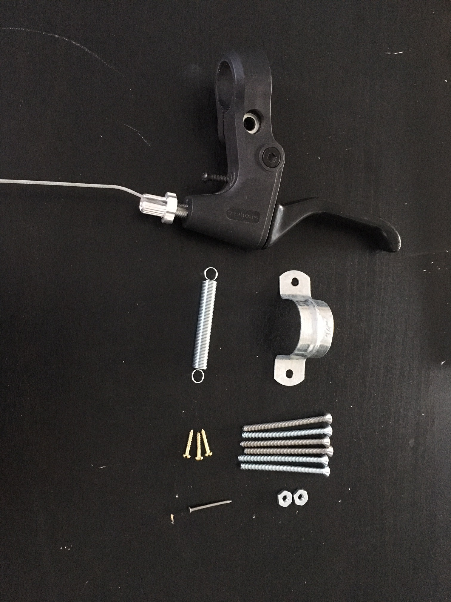 Picture of Design and Assemble a Wheelchair Lever Arm: Assembly Instructions