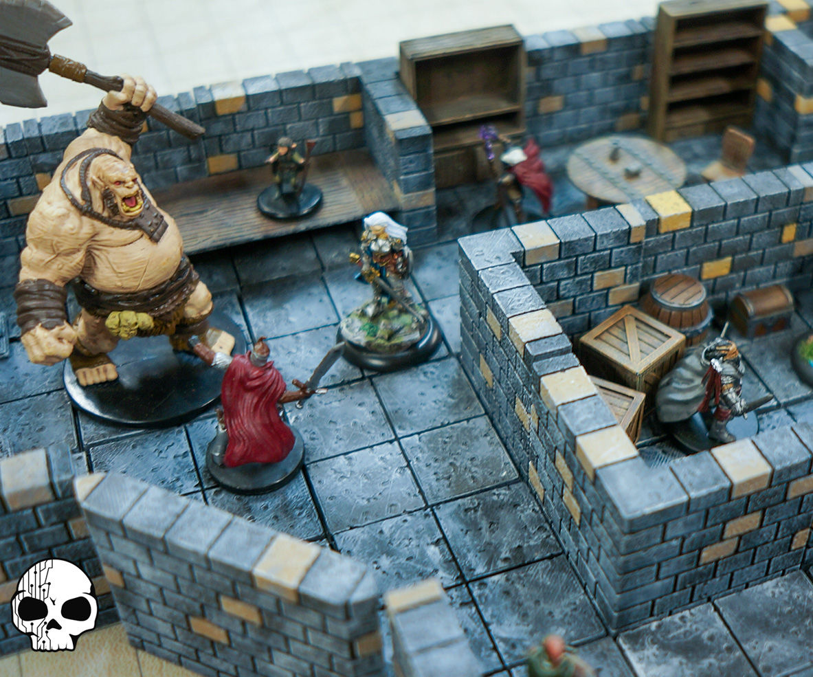 picture relating to 3d Printable Dungeon Tiles titled 3D Print Your Particular Dungeons!: 8 Techniques (with Shots)