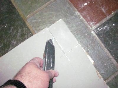 Cut a Sheetrock 'Plug'