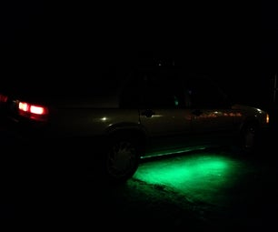 """LED """"Neon"""" Glow Lights for Automotives"""