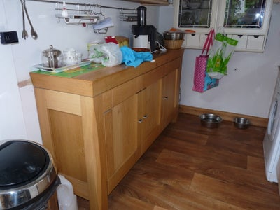 Moving One of the Sideboards and Display Cabinet Into Kitchen for Storage