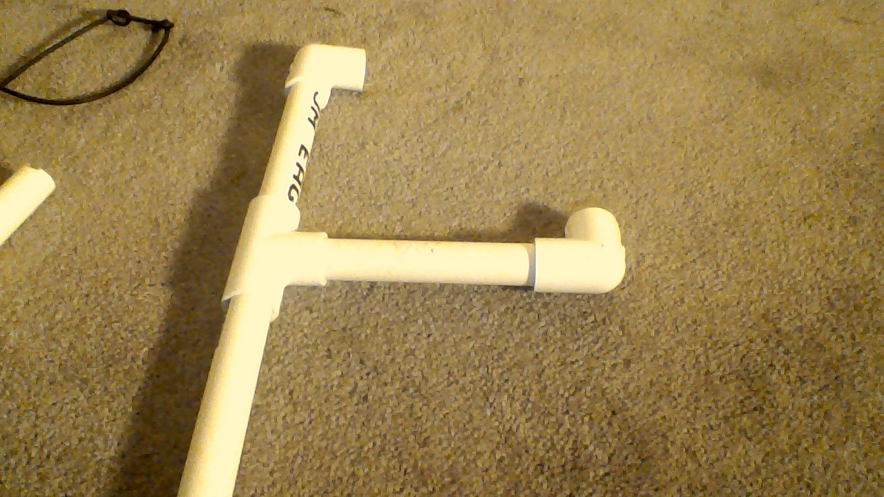 Picture of Fifth Step to Making the Letters V and P Out of PVC Pipe
