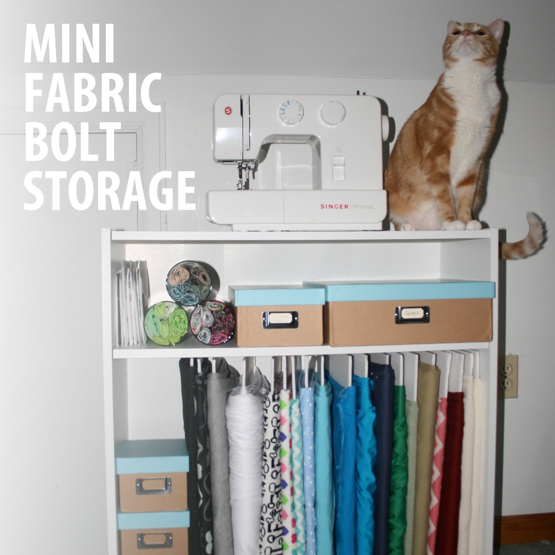 Picture of Mini Fabric Bolt Storage