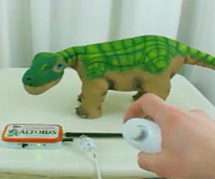 Remote Control Pleo With Wii Nunchuck