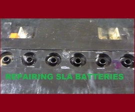 Repair Sealed Lead Acid Batteries