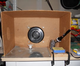 Homemade Soldering Fume Extractor Station