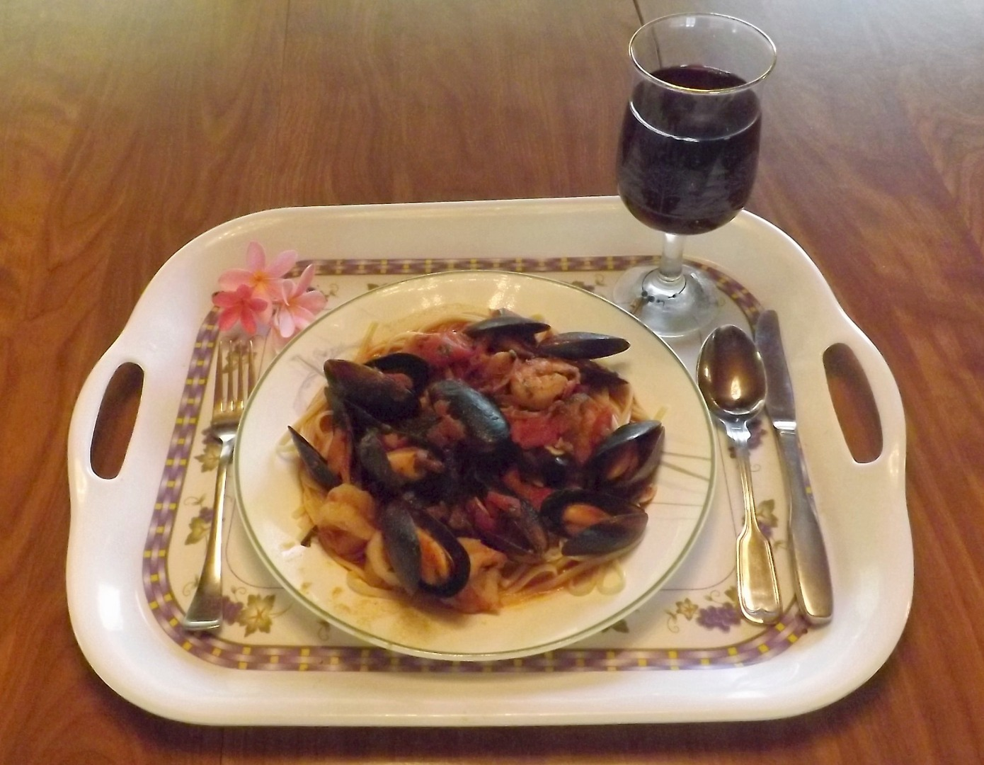 Picture of SHRIMP & MUSSELS FRA DIAVOLO