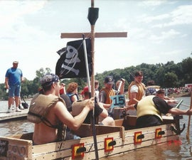 AHOY! Cardboard Boat for Racing