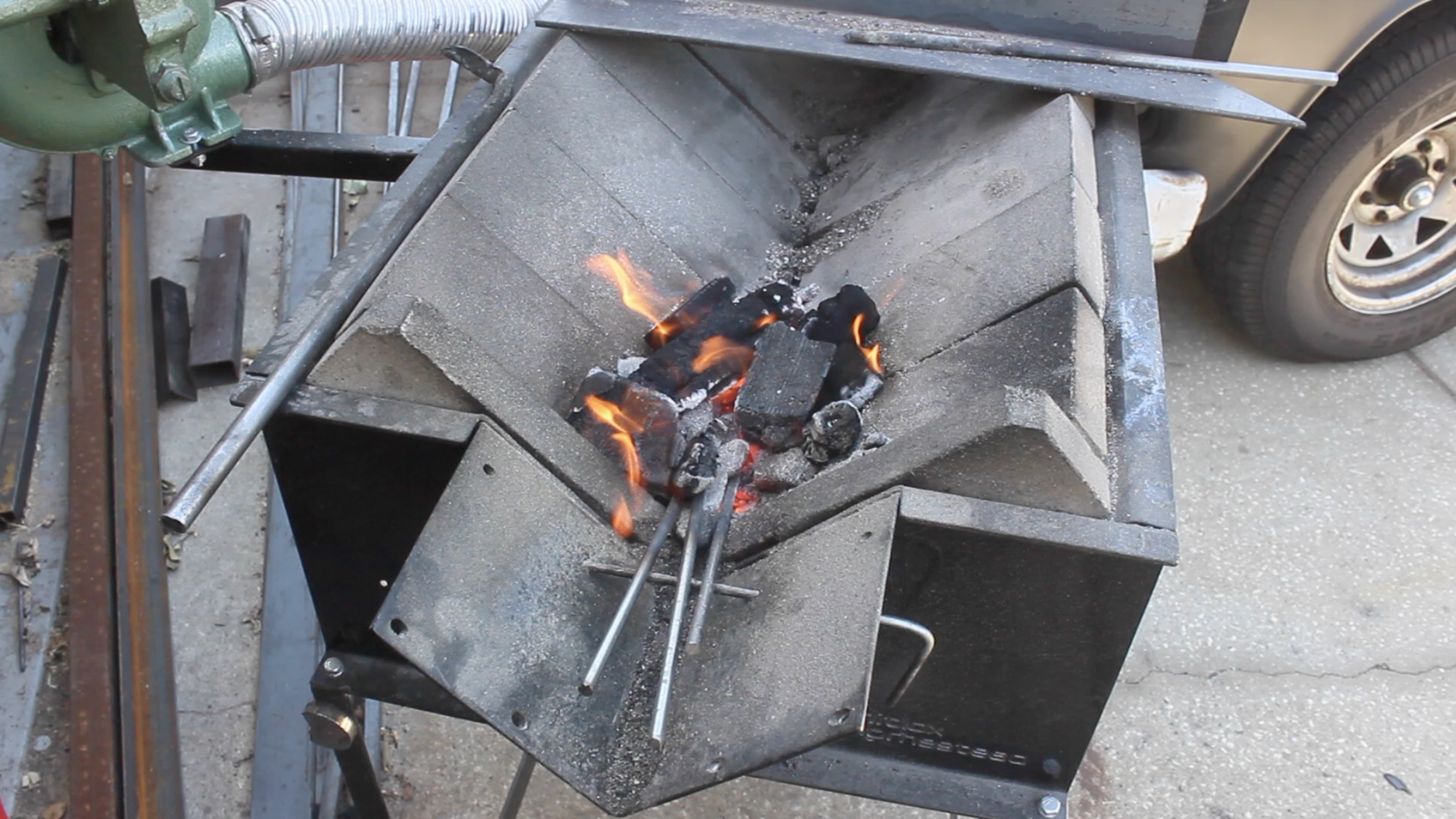 Picture of Forging the Nails