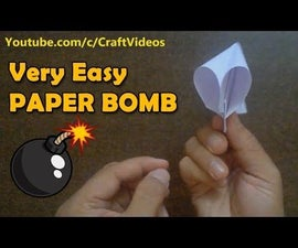 How to Make Paper Bomb