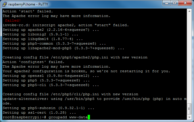 Picture of Install Apache With PHP