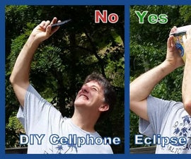 Eclipse Viewer With Cellphone Camera