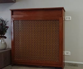 How to Customize a Radiator Cover