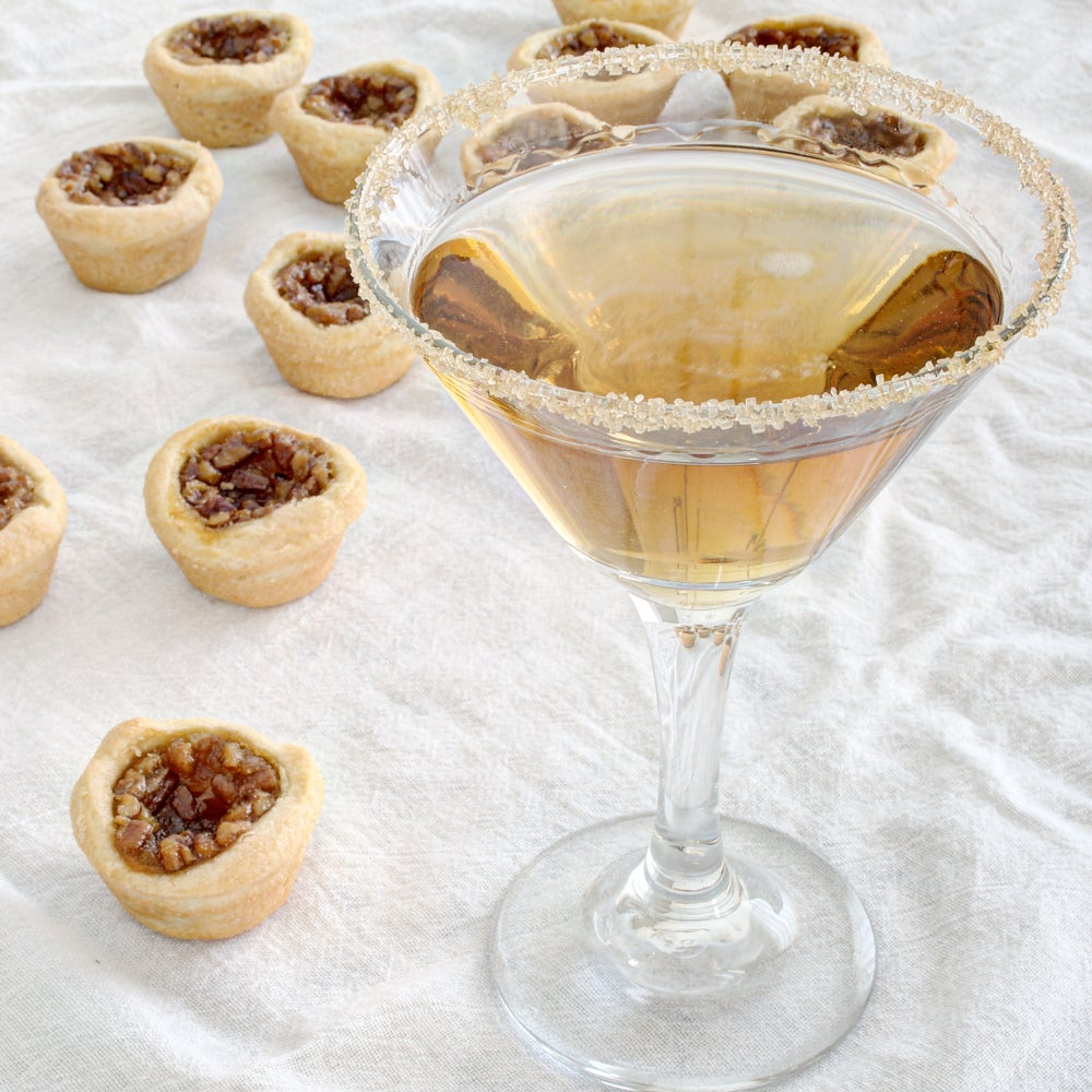 Bourbon Pecan Pie Martini