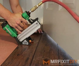 How to Install Hardwood Floors