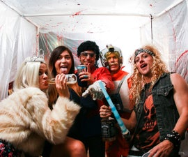 The Killbooth - a DIY Halloween Photo Booth