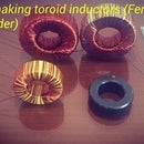 How to calculate and wiring a Toroid inductor