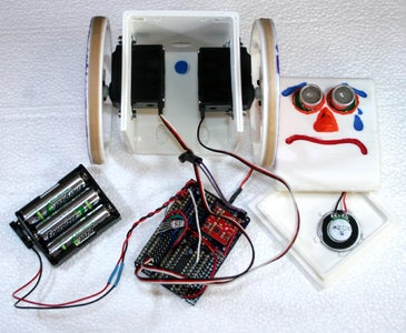Talking, Singing and Dancing MiniFloppyBot Robot