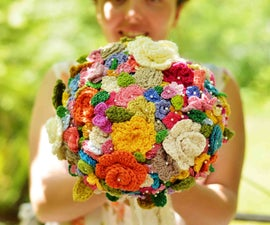 Crochet Your Wedding Bouquet