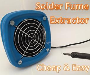 Solder Fume Extractor