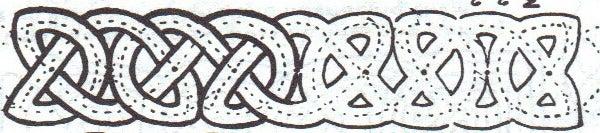 Celtic Knot Money Clip