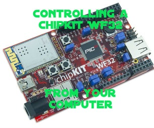 Controlling a WF32 From a Computer