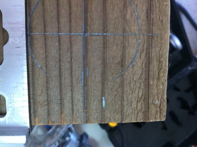 Mark the Middle and Side Pieces for Routing