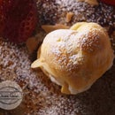 Heart Shaped Almond Strawberry Cream Puff Recipe