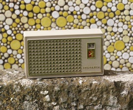 how to revive a sylvania reflex circuit transistor radio