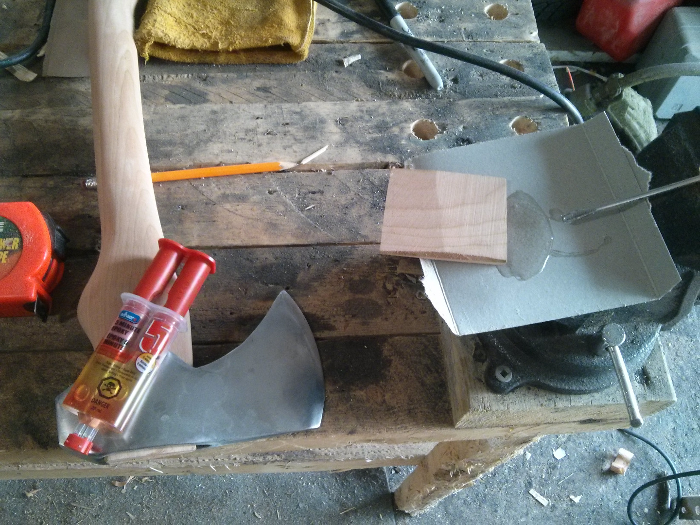 Picture of Socketing the Axe Head