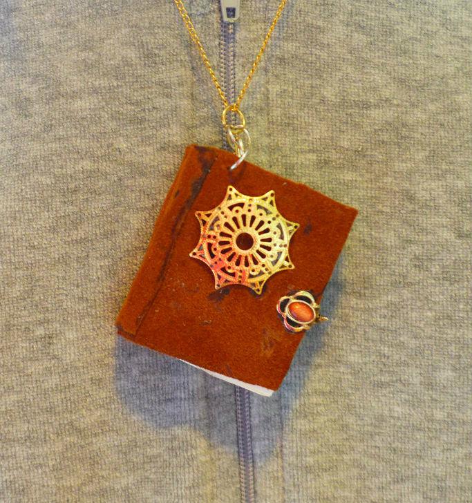 Picture of Miniature Book Pendant