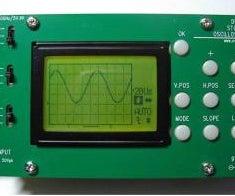 Building a Digital Oscilloscope from a DIY Kit