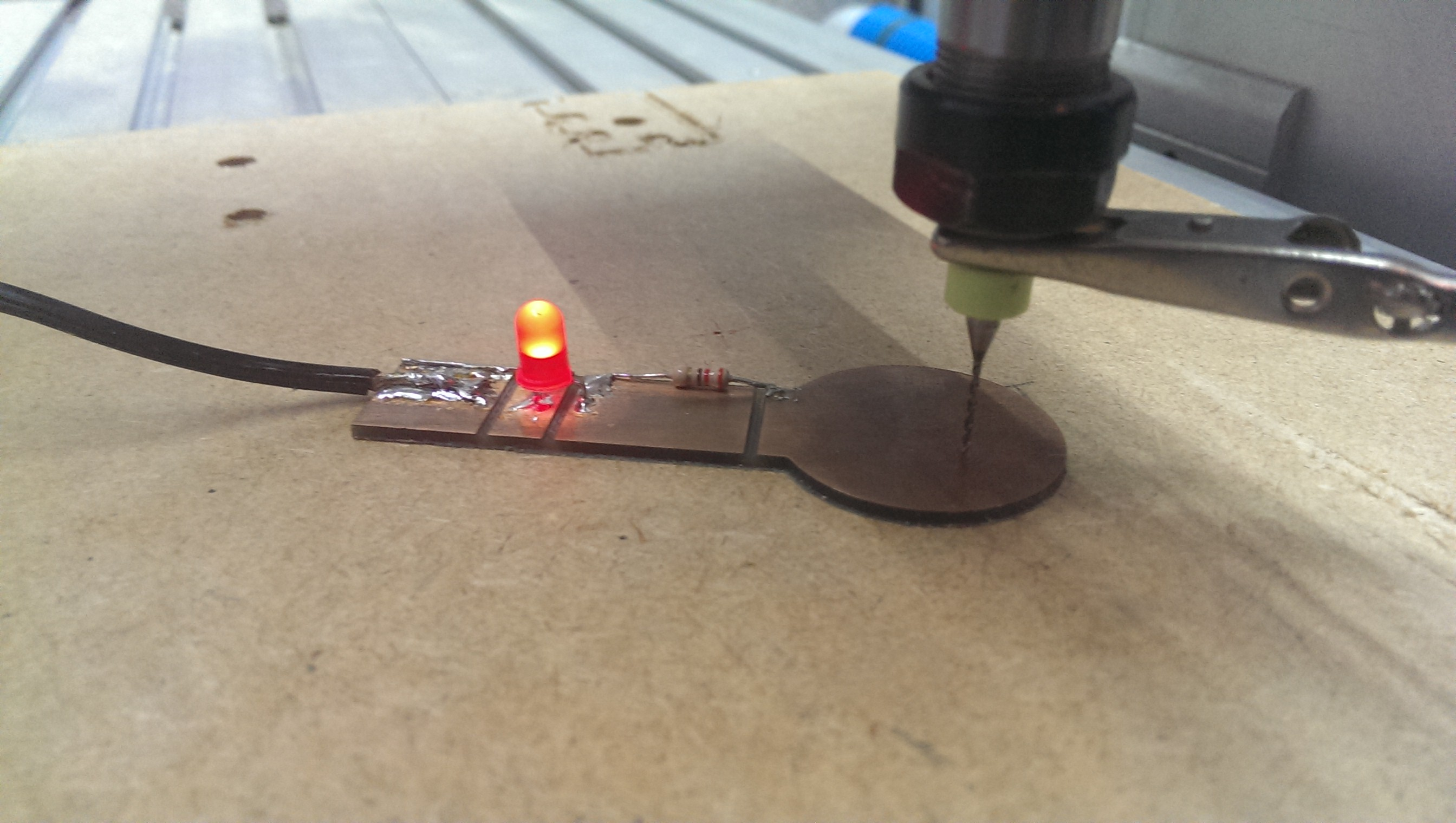 Picture of Mach3 Zero Probe Tool