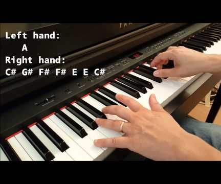 How To Play Counting Stars On Piano Easy For Beginners
