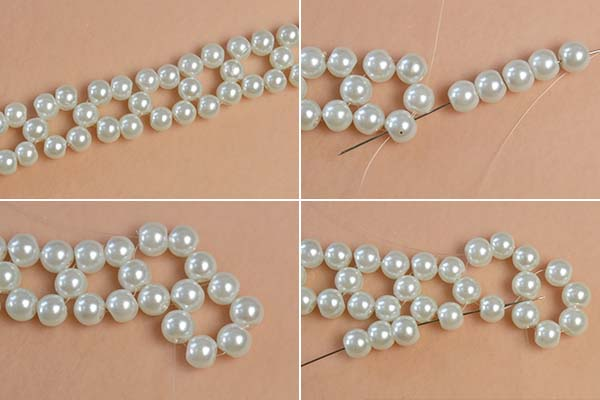 Picture of Make More Bead Loops With 6mm Ivory Pearl Beads