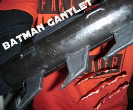 simple batman gauntlets