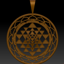 3D Modeling a Printable Shri Yantra Pendant From an Image (Zbrush)