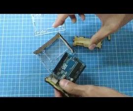Caja para Arduino con corte laser - Uno, Mega, Leonardo, Yun