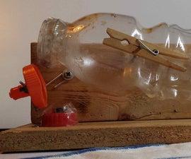 Improved No-Kill Plastic Bottle Mouse Trap