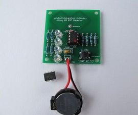 EMF Detector 0- 999 Hz for ATtiny 85