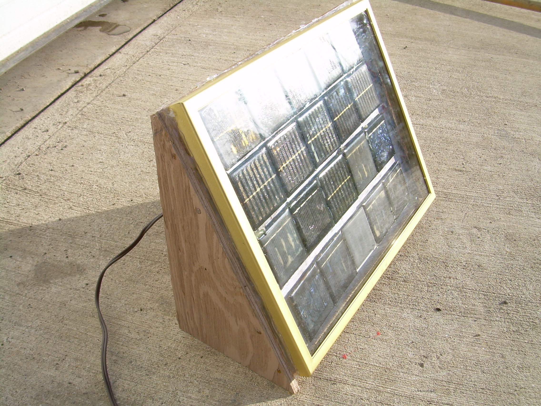 Picture of Recycled Solar Power