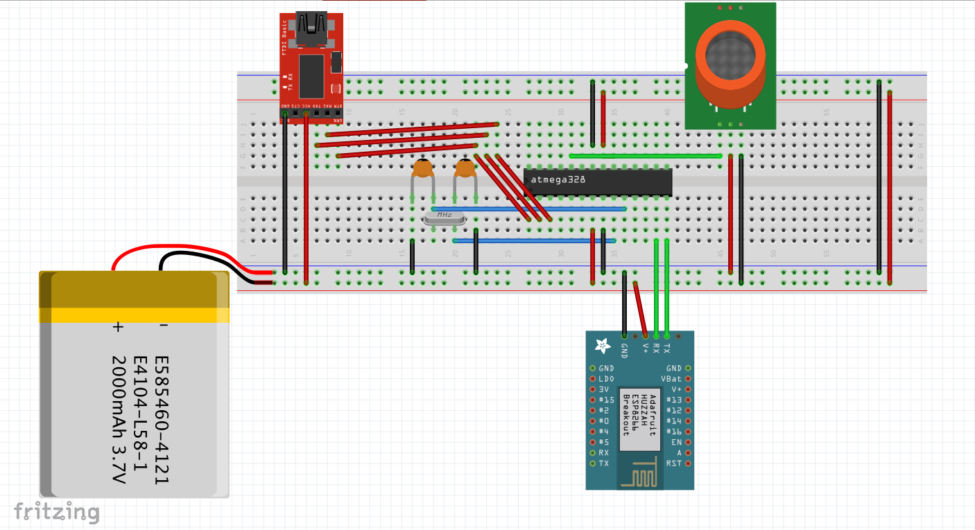 Picture of THE WORKING AND SCHEMATICS